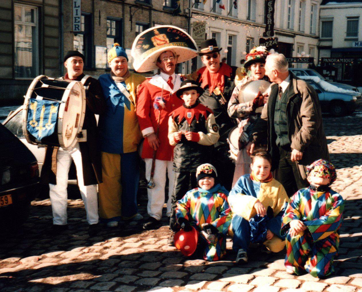 1999 Famille Bouve, Famille Minne, Famille Faillie