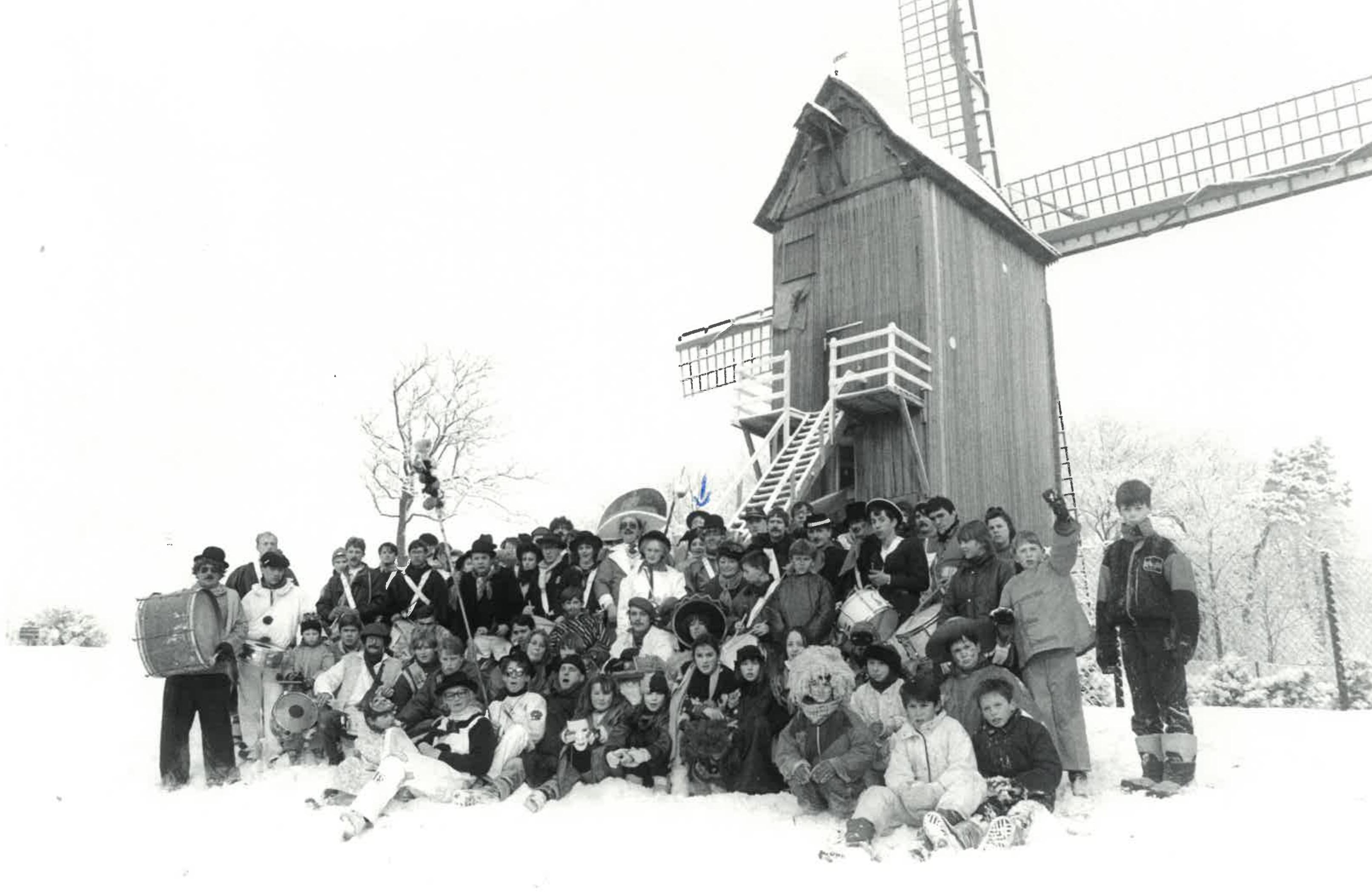 Carnaval d'hiver sous la neige 1991
